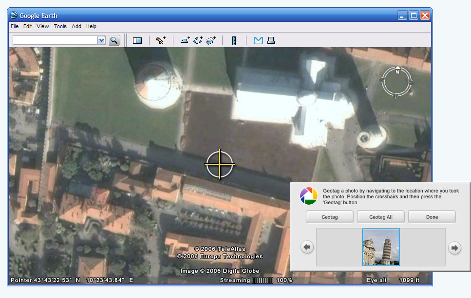 record google earth zoom